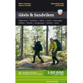 Calazo Terrängkartor: Gävle och Sandviken 1:50 000